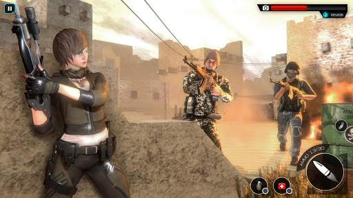 Cover Free Fire Agent:Sniper 3D Gun Shooting Games modavailable screenshots 2