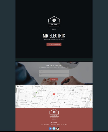 Build a Electric Website