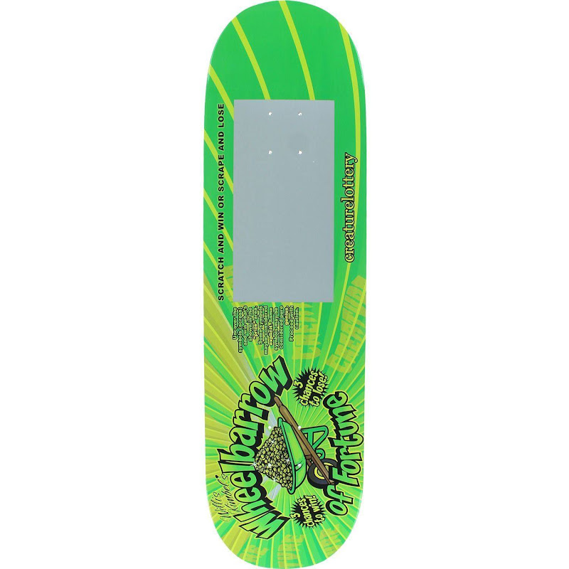 Creature Skateboards Willis Kimbel Scratcher Skateboard Deck - 9