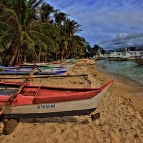 Borocay, Philippines in HDR by AJ VILLAMAYOR - Landscapes Travel
