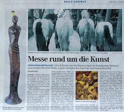 Photo: Artikel zur 2. Lokalen Kunstmesse in Naumburg (NTB/NEB Donnerstag, 25. August 2011)