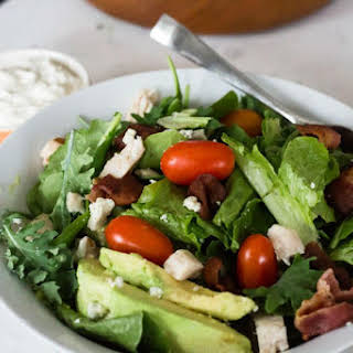 Blue Cheese and Bacon Salad.