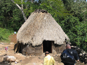 Photo: Typical Mayan village home