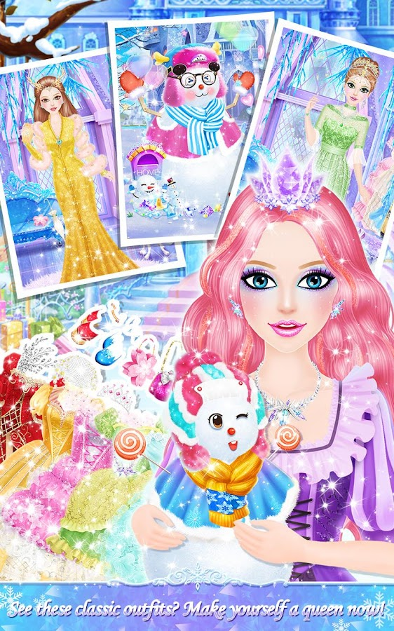 Princess Salon: Frozen Party- screenshot