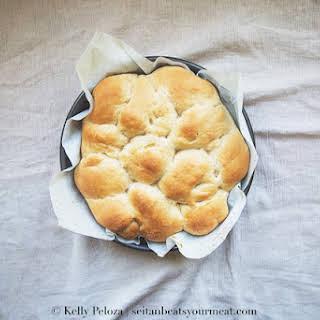 Homemade Vegan Hawaiian Bread (King's Hawaiian Bread).