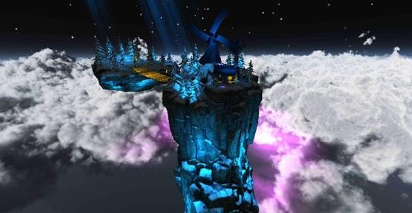 Floating Island Parallax LWP screenshot 7