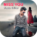Miss You Photo Editor icon
