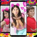 Maria Clara e JP Wallpaper 2021 Familia Cute Kids icon