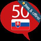 Slowakisch lernen -50 Sprachen icon