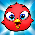 Bird Bounce: Angry Cute Birds Jumping game icon