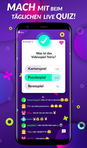 10 Runden - Live Quiz & Geld verdienen 0.99 screenshots 1