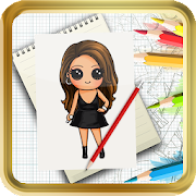 Learn To Draw Famous Chibi Celebrity Step by Step icon