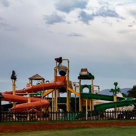 Play park by Elna Geringer - City,  Street & Park  Amusement Parks