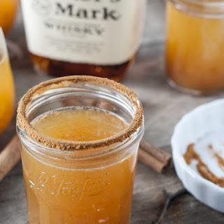 Pumpkin Spice Whisky Cocktails.
