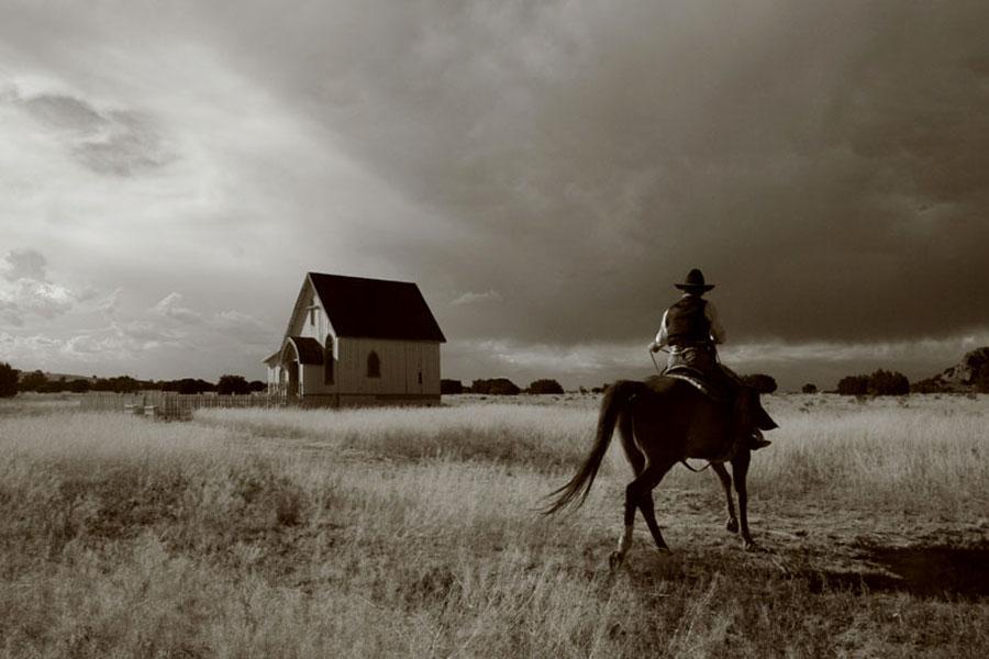 The Cowboy  by Edwin   S. Loyola - People Portraits of Men