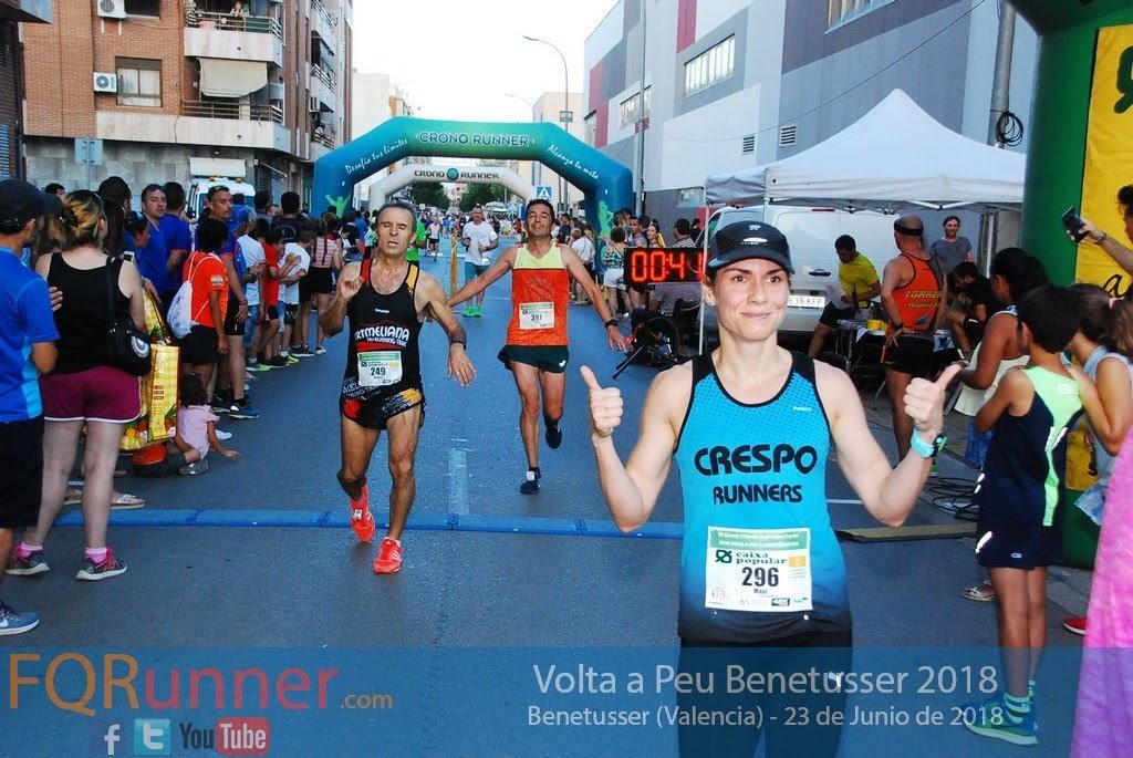 Mapi Del Coso Pozo del club Crespo Runners