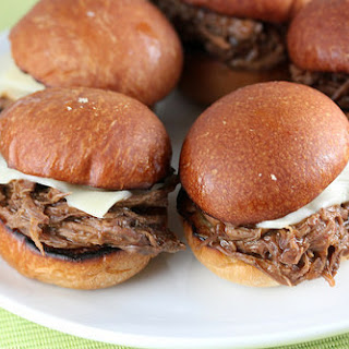 Three Envelope Beef Sliders