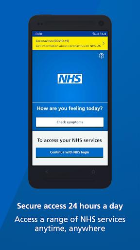NHS App 1.37.0 Screenshots 1