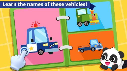 Baby Panda's Book of Vehicles apkdebit screenshots 2