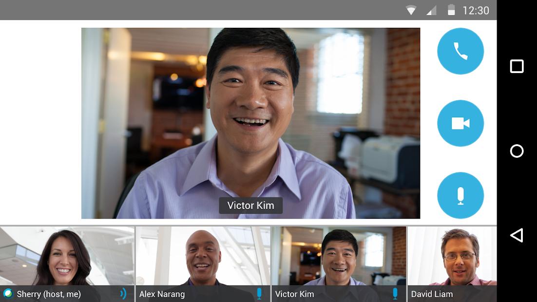 Cisco Webex Meetings Android App Screenshot