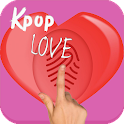 Kpop Love Test Simulator Prank icon