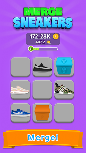 Sneakers zusammenführen! - Screenshots der Grow Sneaker Collection 2