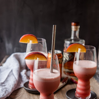Raspberry Peach IPA Slushies