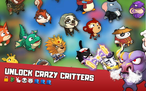 Critter Clash: Monkey Slingshot Battle Game image | 12