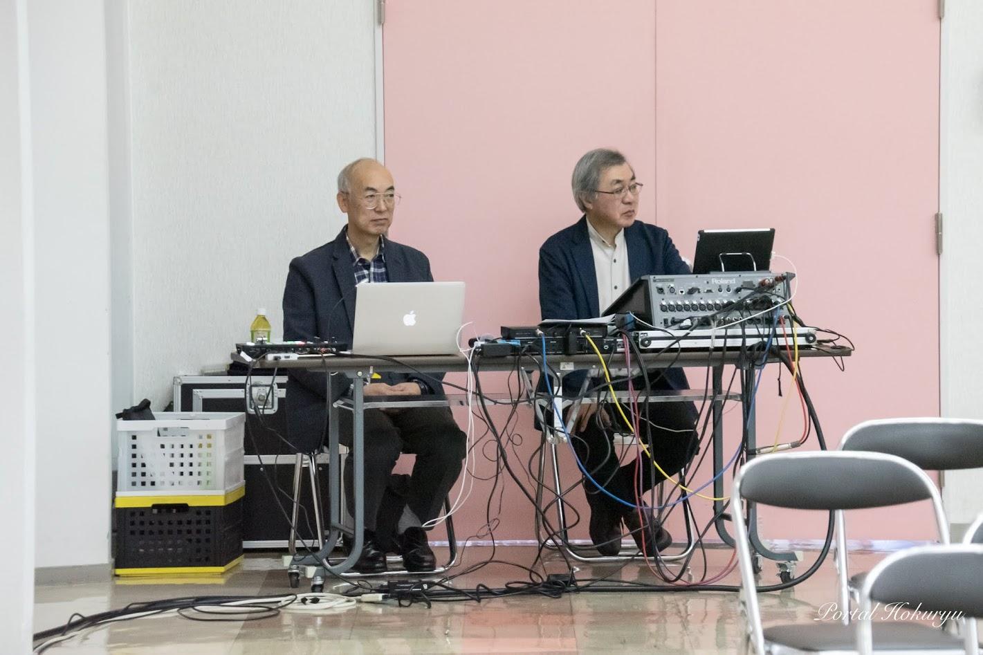 音響を担当されるプロフェッショナルな専門家