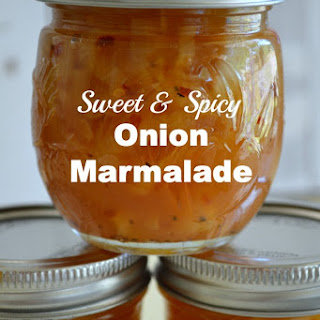 Sweet and Spicy Canned Onion Marmalade