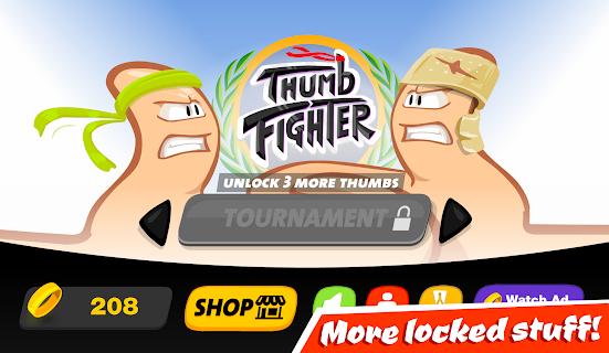 Thumb Fighter screenshot 05