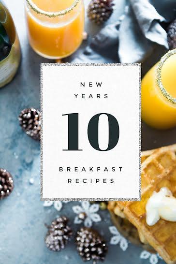 10 Breakfast Recipes - Pinterest Pin Template