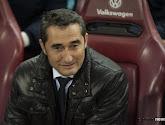 Le coach de Barcelone Ernesto Valverde calme le jeu