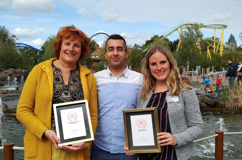 Internationale prijzenregen voor Attractiepark Toverland