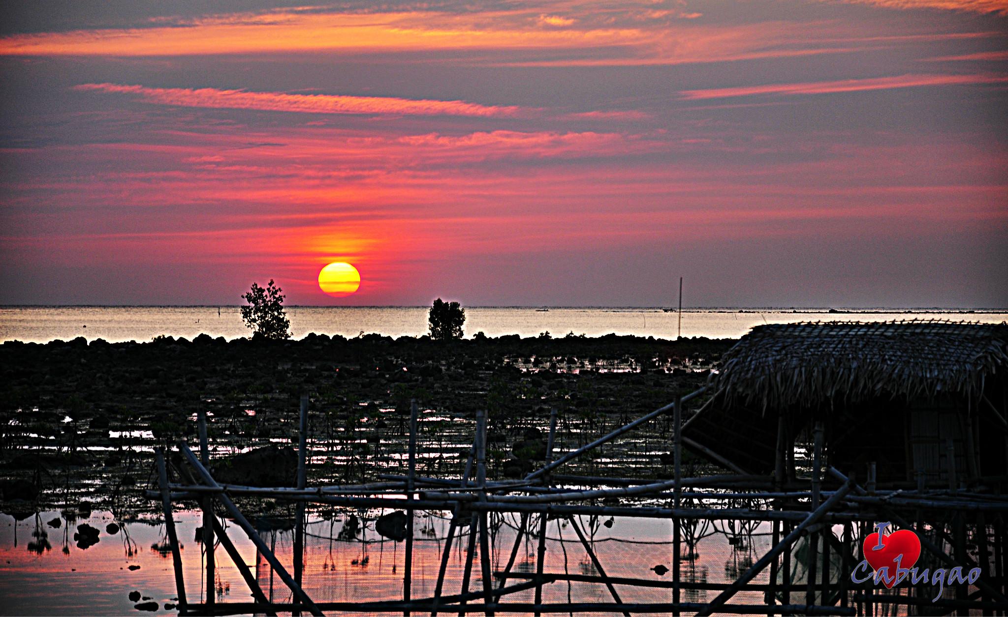 Photo: Brgy. Dardarat Sunset   Brgy. Dardarat, Cabugao, Ilocos Sur   AB Photography