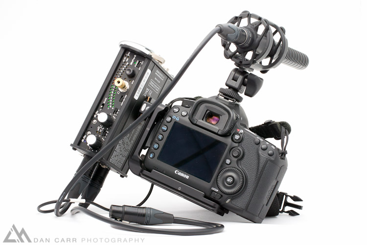Photo: Canon 5d Mark III and Sound Devices Mix Pre-D
