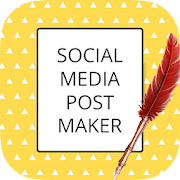 Social Media Graphic Design & Post Maker