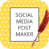 Social Media Post Maker & Graphic Builder