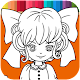 Manga Anime - Free Coloring Book & Paint Color Download on Windows