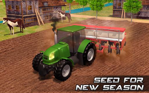Farming sim 2018 - Tractor driving simulator apkdebit screenshots 8