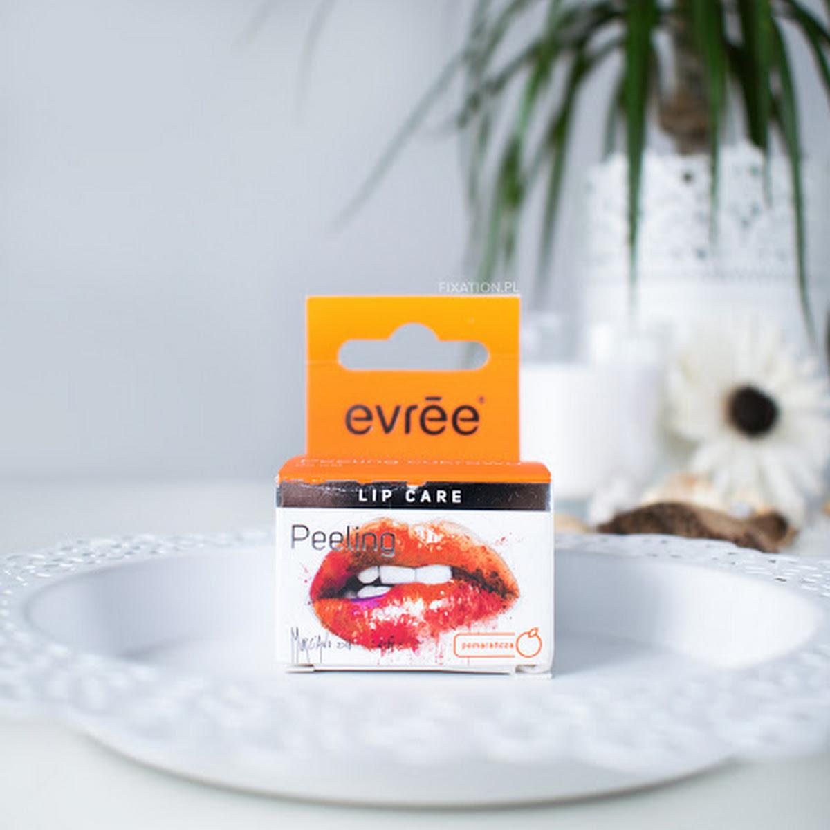 Evree Sugar lips   Pomarańczowy peeling cukrowy do ust