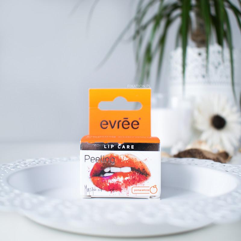 Evree Sugar lips | Pomarańczowy peeling cukrowy do ust