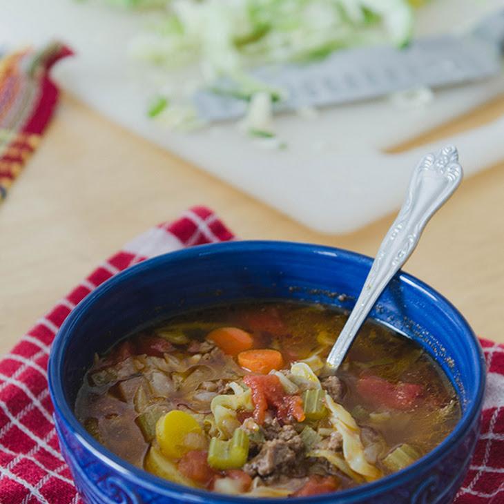 Rustic Beef, Tomato & Cabbage Stew Recipe