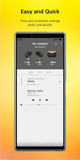 Sony | Headphones Connect screenshot 1
