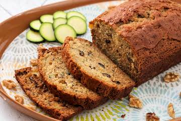 Zucchini Pineapple Walnut Bread