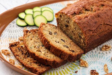 Zucchini Pineapple Walnut Bread Recipe