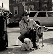 Photo: Tommy, Scampi and friend  #100strangers <9/100> +100 Strangers Project   The beautiful spring weather has brought everyone out and in great spirits, making it easy to approach them to photograph ~ a perfect time to get out of your comfort zone! Of course, approaching someone and complimenting their pet is always extra easy. Tommy was enjoying the day with a couple furry friends and gladly gave me a min to take a shot and introducing me to the critters...unfortunately I didn't catch the name of the littlest fur ball :)