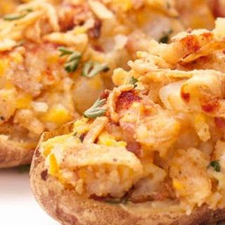 Crispy Onion Twice-Baked Potatoes