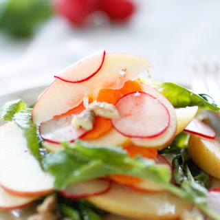 Apple, Carrot and Radish Salad