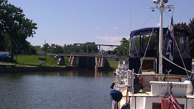 Photo: At the docks at Waterford. Lock E-2. Erie Canal.